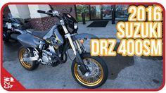 Is the DRZ 400 one of the most popular supermotos on the road? It must be becuase it doesn't look like Suzuki has done anything with that bike in a while. On this First Ride Chase takes it out for a spin to see what all the hypes about!  Similar Bikes: 2017 Yamaha WR 250 - https://youtu.be/f0I3kjyi9IM 2017 Ducati Scrambler Sixty2 - https://youtu.be/VTdsB61DOUk  Blog Post: http://ift.tt/2h9u6i1  Bike Provided by: Mountain Motorsports (Roswell) http://ift.tt/2eqFMvL  Song: James Meyers…