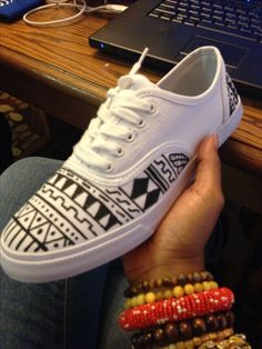 My tribal shoes