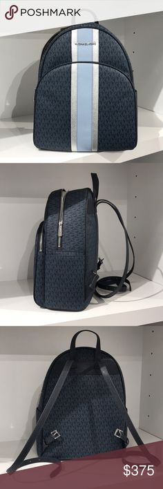 8e57e1c15cf8 Michael Kors abbey large backpack admiral navy Authentic guaranteed!  Purchased in US Brand new with