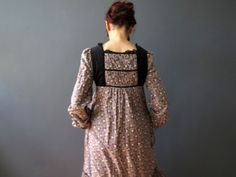 Vintage 70s Disco Grecian Goddess Maxi Cape Dress Coral Pink XS To S