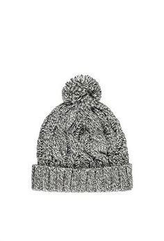 Cable Knit Pom Beanie | Forever 21 - 2000172167
