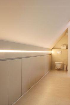 Turn Your Attic into the Bathroom of Your Dreams Today - Attic Basement Ideas Loft Conversion, Attic Rooms, Loft Bathroom, Loft Room, Small Space Interior Design, Bedroom Loft, Loft Spaces, Attic Conversion, Home Bedroom