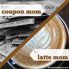 """You all know the different types of moms out there. You have ones like me, the frazzled couponer or you have the """"well-put together-latte mom"""" as I call them.  Now, if you are a latte mom, please know that I am in no way putting you down. If anything, I have a bit of the jealous monster, hence this post..."""