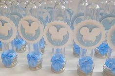 Mickey 1st Birthdays, Mickey Mouse 1st Birthday, 1st Birthday Parties, Mickey Party Decorations, Mickey Centerpiece, Festa Mickey Baby, Theme Mickey, Boy Baby Shower Themes, Baby Boy Shower