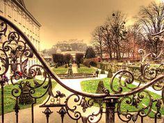 Mirabelle Gardens, Salzburg, Austria