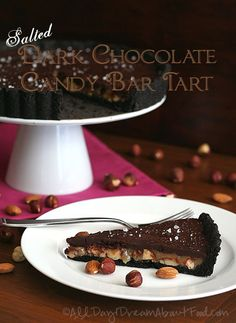 Low Carb Chocolate Caramel Nut Tart Recipe   All Day I Dream About Food