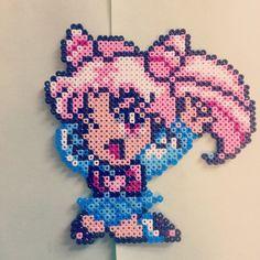 Chibi Sailor Moon perler beads by jovapour