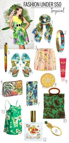 Fashion Under $50: Tropical - Henry Happened