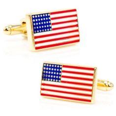 a3aff2b158da Vintage USA Flag Cufflinks in 2019