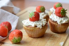Paleo aardbeien muffins - Receptenruil   Oerkracht - Paleo, Puur & meer