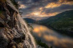 Photograph On top of the waterfall by Jørn Allan Pedersen on 500px