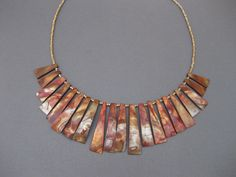 Shell Bronze NecklaceTop Drilled Handmade, $26.00, ; 15% Coupon available, use code Jazzy