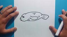 como dibujar un manati