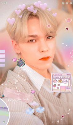 Vernon Seventeen, Seventeen Wonwoo, Pastel Wallpaper, Wallpaper Lockscreen, Vernon Hansol, Choi Hansol, Seventeen Wallpapers, World Domination, Love My Boys