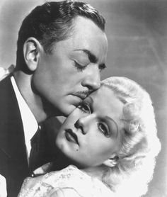 William Powell & Jean Harlow Hollywood Couples, Hollywood Fashion, Hollywood Actor, Vintage Hollywood, Hollywood Style, Hollywood Pictures, Movie Couples, Famous Couples, William Powell