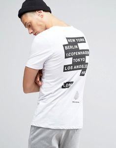 Image 1 - Jack & Jones - T-shirt imprimé au dos et devant