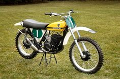 ~Very light and very fast . I seen this bike at US Suzuki South of LA . Seen Joel Roberts ride it or one just like it. This was the game changer in Moto Cross.