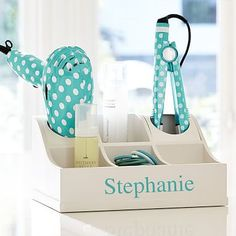 Ultimate Hair Accessories Organizer from PBteen. Saved to Beauty. Shop more products from PBteen on Wanelo. Teenage Girl Bathrooms, Teen Girl Bedrooms, Teal Bedrooms, Girl Rooms, Girls Bathroom Organization, Bathroom Storage, Bathroom Ideas, Bathroom Goals, Bathroom Inspo