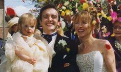 Mindy Hammond with husband Richard and bridesmaid Izzy