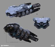 ArtStation - Mass Effect Andromeda - Transport Vessel, Brian Sum