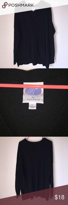 Diana Gilman Black Oversized Long Sleeve Like new Diana Gilman Black Oversized Long Sleeve. Very comfortable! Diana Gilman Tops Tees - Short Sleeve