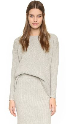 Madewell Bryn Ribbed Sweater