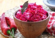 kapusta kvashenaja so svekloj recept kak u moej babushki Canning Recipes, Watermelon, Cabbage, Sandwiches, Tasty, Snacks, Fruit, Vegetables, Food