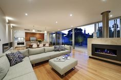Accredited Perth luxury home builders. Specialising in stunning custom home design and build. Build your dream home. Living Room Furniture Arrangement, Living Room Sofa, Home Living Room, Living Room Decor, Exclusive Homes, Custom Home Designs, House Floor Plans, Home Interior Design, Simple Interior