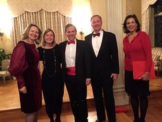 If the holiday festivities at the residence of Ambassador Claudio and Laura Denise Bisogniero was meant to give a brief respite to a nation in distress after Sunday's Oval Office address to the nation by President Barack Obama on threats to our national security, they succeeded.  Spirited Italian Opera, as well as traditional Christmas music, indeed lifted the spirits of guests at Firenze House.