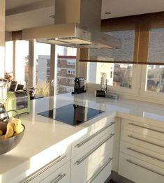 Salón, comedor y cocina en el mismo espacio