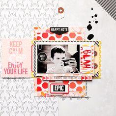 ★Scraptherapie★: {STudio TekTurek>>>Keep Calm and Enjoy your Life}