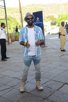 Dancer Remo D'Souza at the Justin Bieber's concert in India