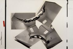 Gordon Matta-Clark, Artist's paste-up for MCA Exhibition catalogue 'Circus', 1978. Collection Museum of Contemporary Art, Chicago. Gift of the artist. © Estate of Gordon Matta-Clark.