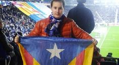 Anul·lada la multa de 4.000 euros al seguidor del Girona amb una estelada - AraGirona