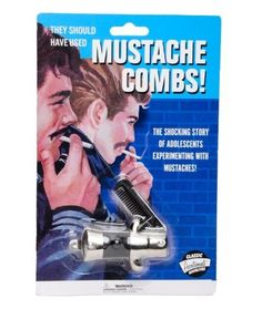 Accoutrements Switchblade Mustache Comb by Accoutrements, http://www.amazon.com/dp/B001M51VHI/ref=cm_sw_r_pi_dp_1OPnrb1P3K4BC