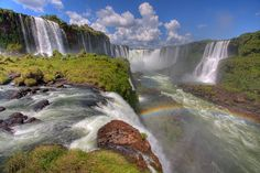 Iguazu Falls (HDR) by Modern Day Nomad, via Flickr