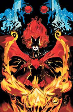 BATWOMAN #18  Art and cover by TREVOR McCARTHY