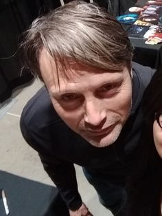 Last day at SVCCC 2018 Close Up Portraits, Mads Mikkelsen, I Love Him, Singer, Actors, Scorpion, Celebrities, Danish, Fictional Characters