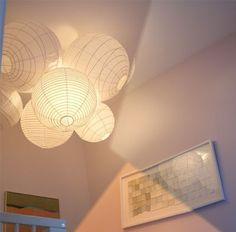 Lámpara en racimo.... ~ Piratas de Ikea