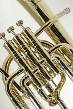Humor Stagg Eb Three Valve Tenor Horn Brass Body Clear Lacquer Finish *fast Postage* Brass
