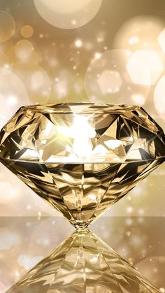 Sparkly Gold Diamond Wallpaper