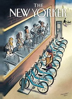 Cover - Best Cover Magazine - June 2013 New Yorker cover illustration - Marcellus Hall Best Cover Magazine : – Picture : – Description June 2013 New Yorker cover illustration – Marcellus Hall -Read More – The New Yorker, New Yorker Covers, Power Walking, Nachhaltiges Design, Graphic Design, Art Postal, Magazin Design, Ligne Claire, Bicycle Art