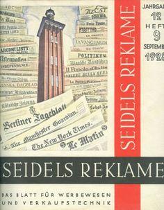 Aquellas primeras revistas alemanas de publicidad: Seidels Reklame http://www.lahistoriadelapublicidad.com/blog-1597/aquellas-primeras-revistas-alemanas-de-publicidad-seidels-reklame #adshistory #lahistoriadelapublicidad