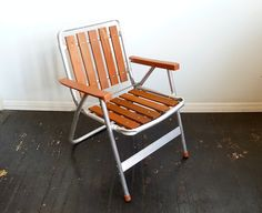 mid century patio chairs | ... and Teak Lawn Chair ... MCM, Mid Century, Patio, Deck Chair, Redwood