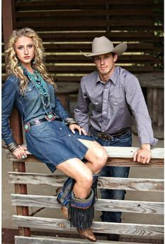western outfits for a country couple. #cowboy #cowgirl #ATBxPBFashionRoundup