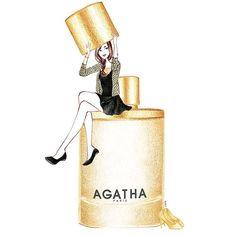 agatha illustration :)