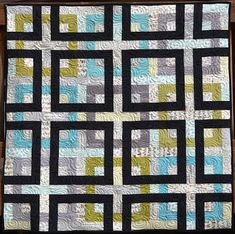 Happy Quilting: Square Dance - A Finished Quilt and a New Pattern