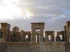 Persepolis, Persian ruins, Iran