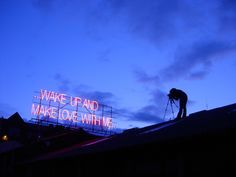 Neon Signs Featuring Lyrics from Classic Love Songs - My Modern Metropolis
