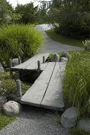 Japanese Garden Is Not Your Ordinary Garden Bog Garden, Dream Garden, Garden Paths, Garden Bridge, Garden Landscaping, Back Gardens, Outdoor Gardens, Backyard Water Feature, Japanese Garden Design